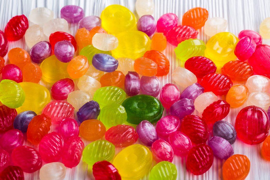 caramelos azúcar como fuente de energía